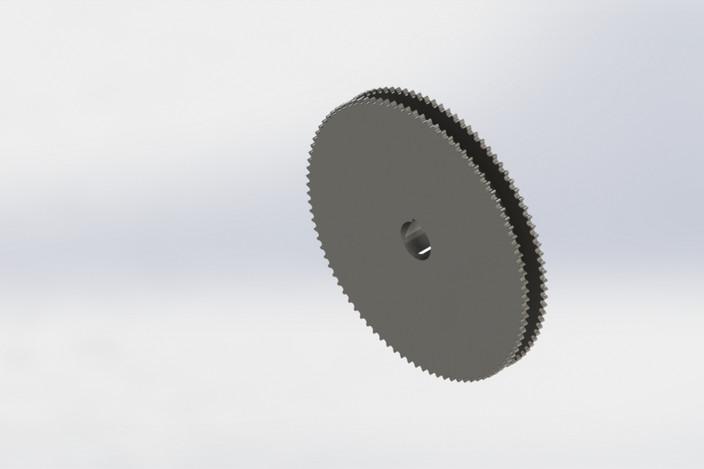 چرخ دنده طراحی شده در سالیدورک