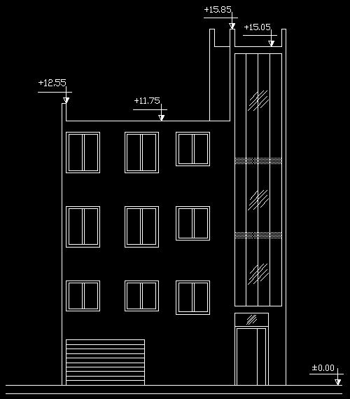 پلان معماری ساختمان مسکونی 150 متری