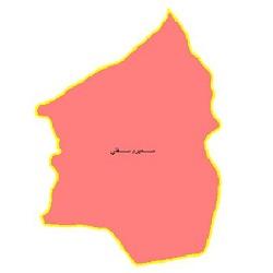 شیپ فایل محدوده سیاسی شهرستان سمیرم سفلی