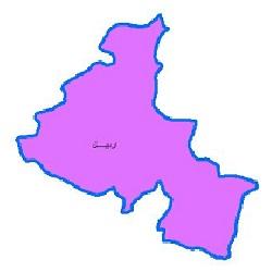 شیپ فایل محدوده سیاسی شهرستان اردبیل