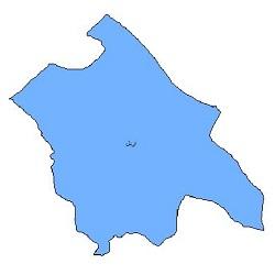 شیپ فایل محدوده سیاسی شهرستان اردل