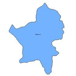شیپ فایل محدوده سیاسی شهرستان بروجن