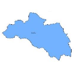 شیپ فایل محدوده سیاسی شهرستان لردگان