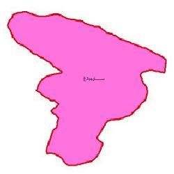 شیپ فایل محدوده سیاسی شهرستان ساوجبلاغ