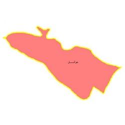 شیپ فایل محدوده سیاسی شهرستان خوانسار