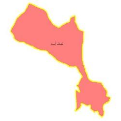 شیپ فایل محدوده سیاسی شهرستان نجف آباد