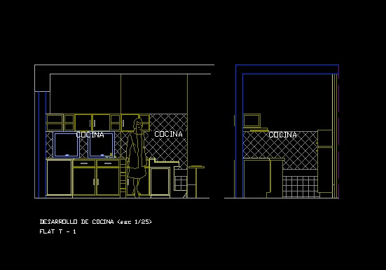فایل اتوکد برش فضای لاندری آپارتمان مسکونی 8 طبقه با مبلمان کامل قابل ویرایش