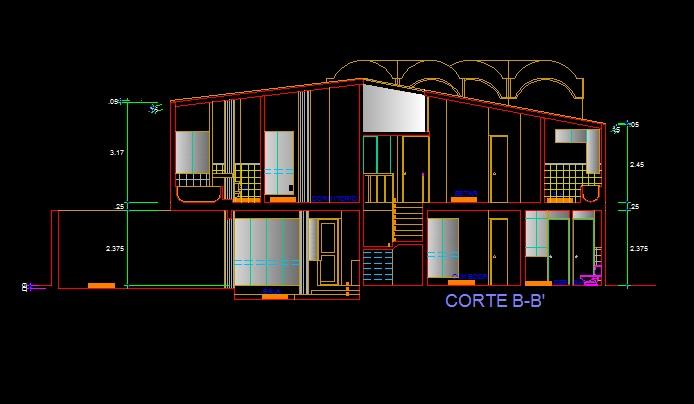 فایل اتوکد برش منزل مس ی 2 طبقه با کد ارتفاعی کامل رد شده از پله قابل ویرایش