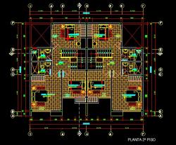 فایل اتوکد پلان معماری طبقه اول منزل مس ی 3 طبقه با اندازه گذاری کامل قابل ویرایش