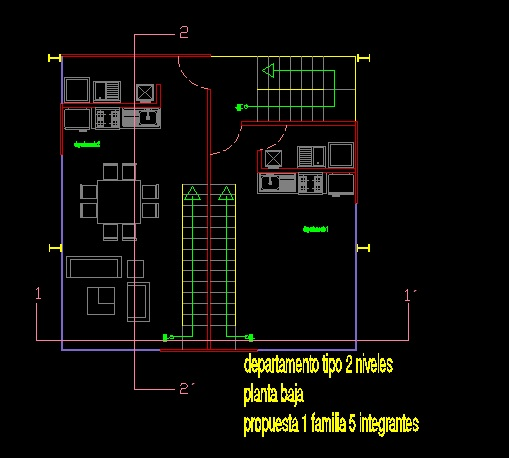 فایل اتوکد پلان معماری طبقه سوم آپارتمان مس ی 5 طبقه کامل قابل ویرایش