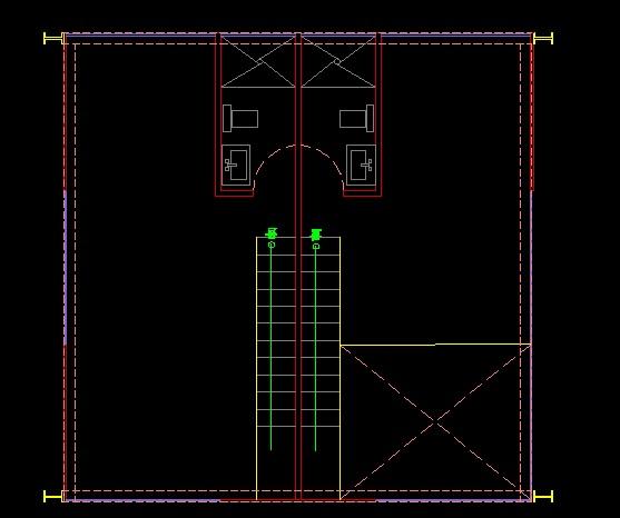 فایل اتوکد پلان معماری طبقه همکف آپارتمان مس ی 5 طبقه کامل قابل ویرایش