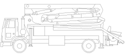 طراحی دکل پمپاژ بتن