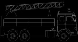 طراحی ماشین آتش نشانی