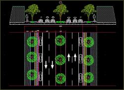 طراحی خیابان 2 طرفه