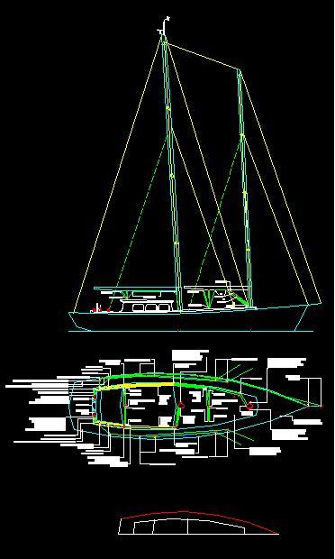 طراحی قایق