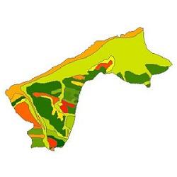 نقشه ی زمین شناسی شهرستان پارس آباد