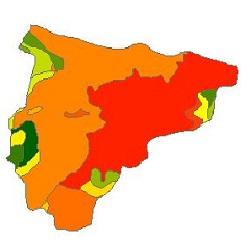 نقشه ی زمین شناسی شهرستان بهار