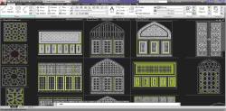 جکتهای بسیار زیبای هنر و معماری اسلامی در قالب اتوکد قابل ویرایش