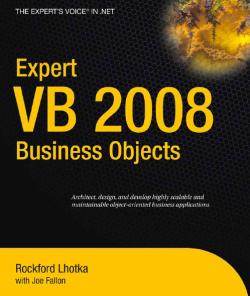 کتاب آموزش ویژوال بیسیک تجاری 2008