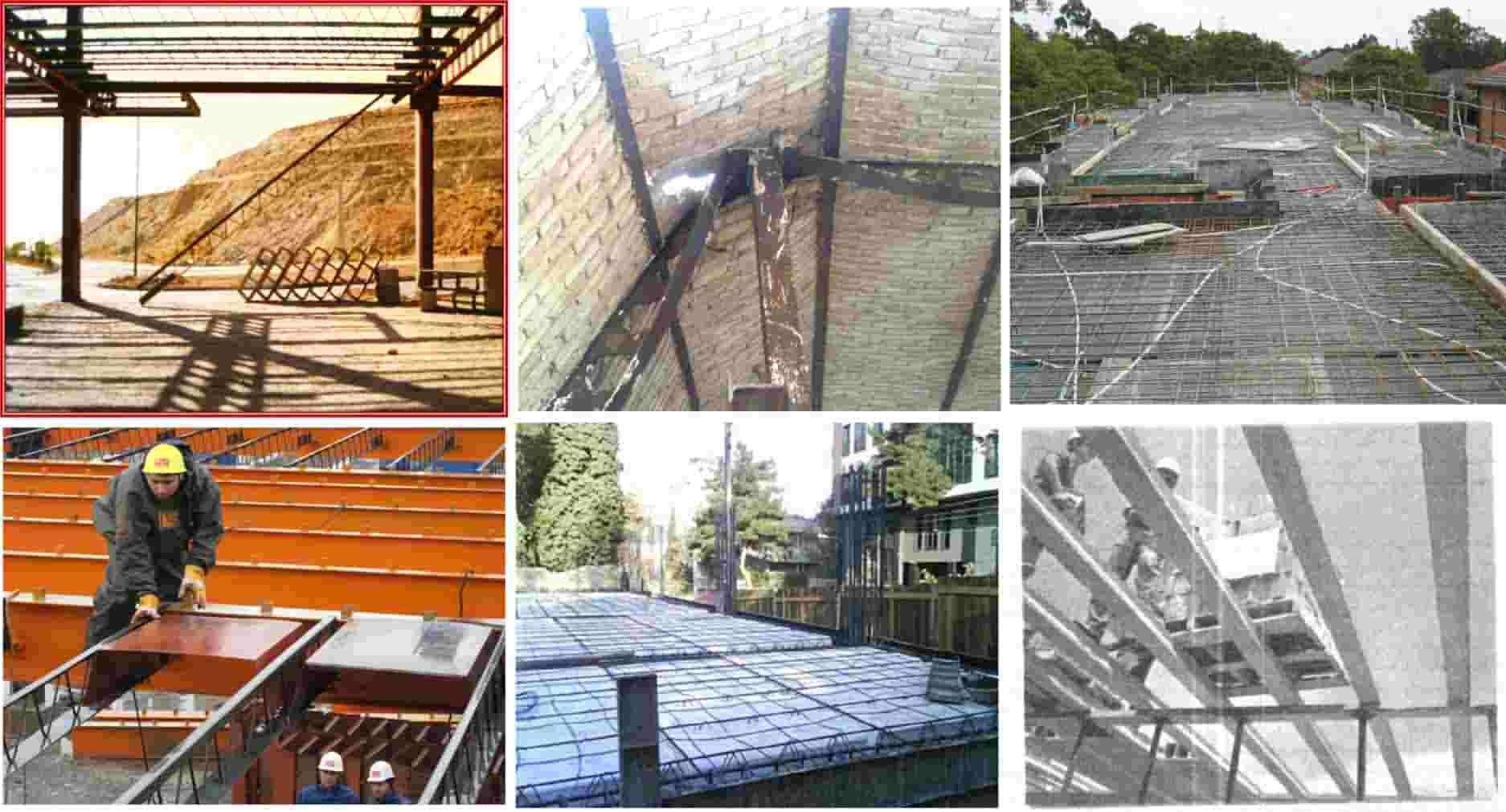 دانلود پاورپوینت بررسی انواع سقف ها در سازه های فولادی و بتنی