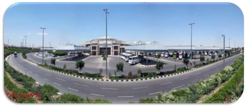 دانلود پاورپوینت تحلیل پایانه مسافربری مشهد